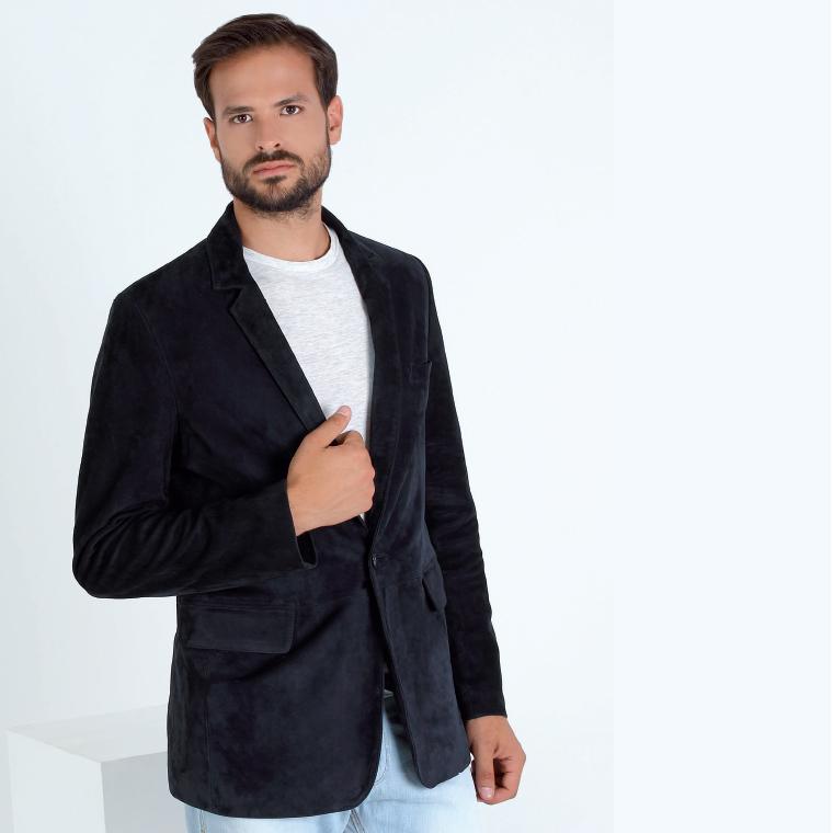 dark-blue-suede-blazer