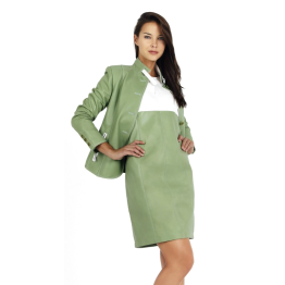 green-womens-nappa-leather-jacket-and-skirt