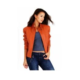 orange-womens-nappa-leather-jacket-blazer