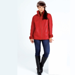 red-suede-leather-coat