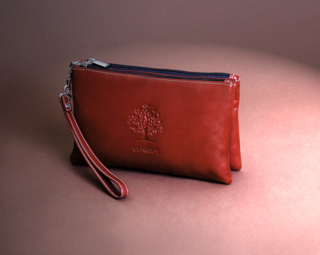 Nappa red handbag made in Ubrique with country skin and high fashion accessories