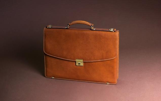 Pielnoble nappa natural color executive briefcase